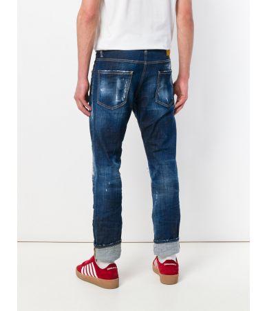 Dsquared2 Cool Guy, Dark Patch, Denim Jeans, S74LB0435 S30342