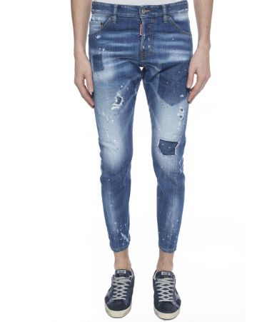 Blugi barbat, Dsquared2 Sexy Twist, Stretched Jeans, S74LB0322 S30342