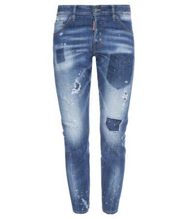 Blugi barbat, Dsquared2 Sexy Twist, Stretched Jeans, S74LB0322 S30342