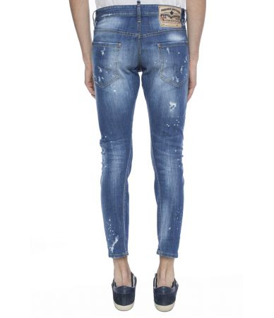 Dsquared2 Sexy Twist, Stretched Jeans, S74LB0322 S30342