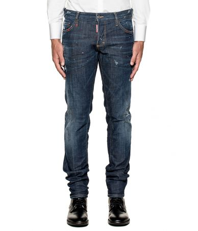 Blugi barbat, Dsquared2, Slim Fit Stretched Jeans, S74LB0269 S30342