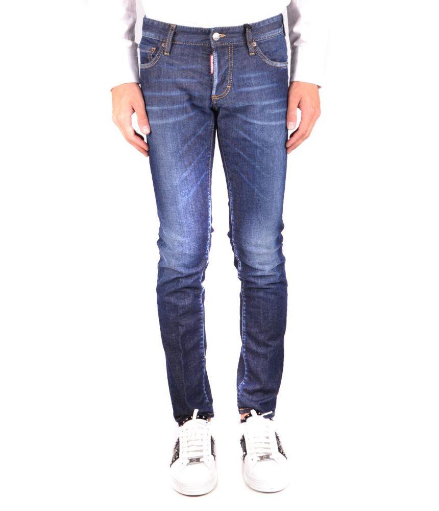 Blugi barbat, Dsquared2, Slim Fit Jeans, FW 18-19, S74LB0405 S30330