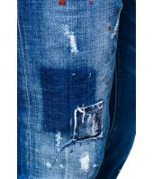Dsquared2, Skater Jeans, Raw Cut Zipped, S74LB0423 S30342