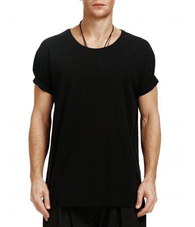 Nous Sommes D'ailleurs, Logo Print T-Shirt, T014