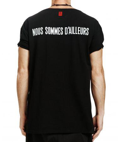 Tricou barbat, Nous Sommes D'ailleurs, Logo T-shirt, T014