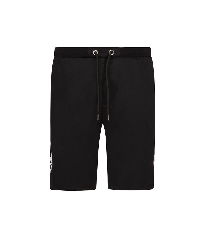 Les Hommes Urban, Casual Shorts, Side Print, URG482AUG450F9071