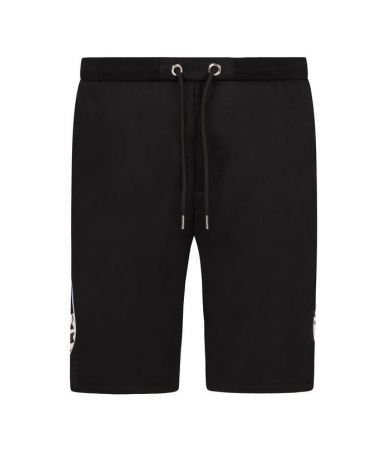Les Hommes Urban, Casual Shorts, Side Print, URG482AUG450F9071