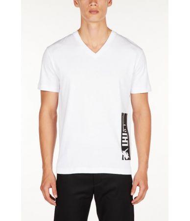 Tricou barbat, Les Hommes Urban, Rubber Barcode, URG801PUG8061009