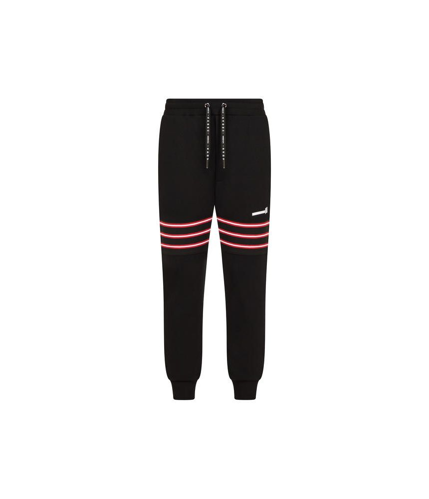Les Hommes Urban, Sweatshirt Pants, Tape Patch, URG880PUG864B9105