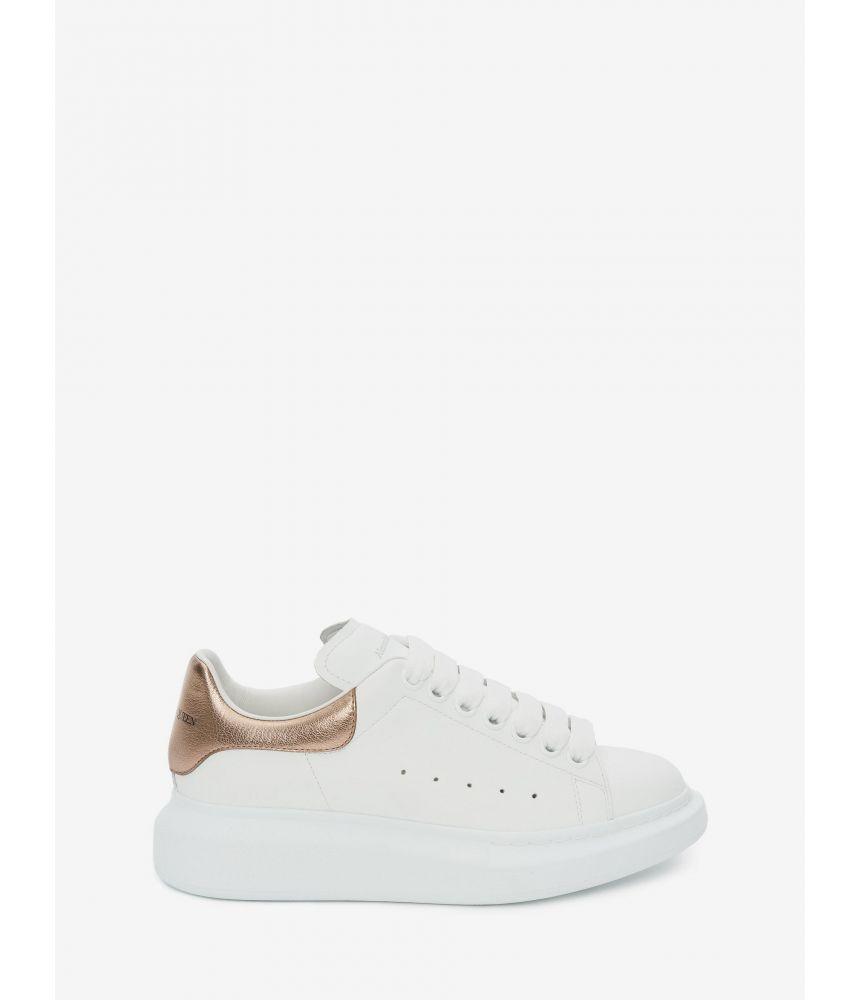 Alexander McQueen, Oversized Sneaker, Woman, Gold, 553770WHFBU9053