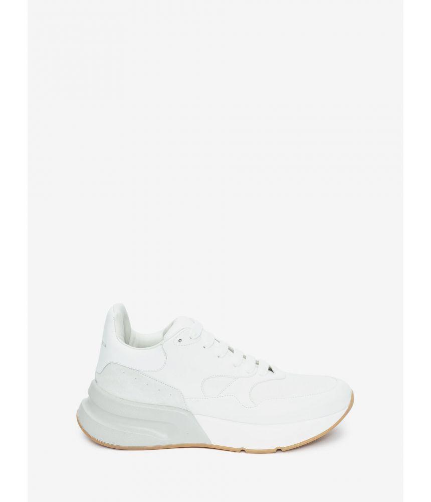 Pantofi sport, Alexander McQueen, Oversized Runner,  535971WHT979026