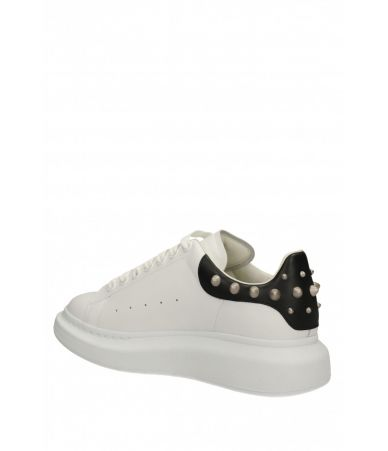 Pantofi sport, Alexander McQueen, Oversized Sneaker Studded, 3553892WHGP59061