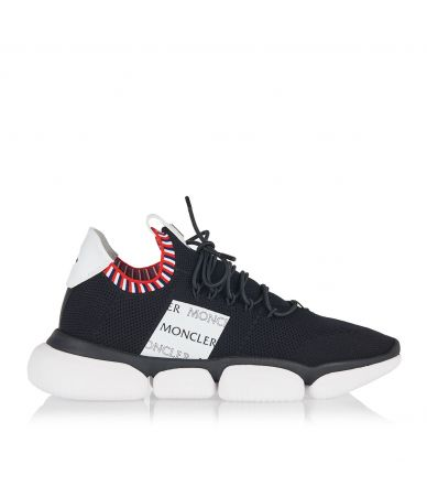 Moncler Technical mesh low-top sneakers, 103620001A8X998