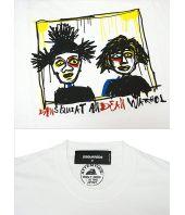 Tricou barbat, Dsquared2, Sketch Print, Warhol, S74GC0978 S22427