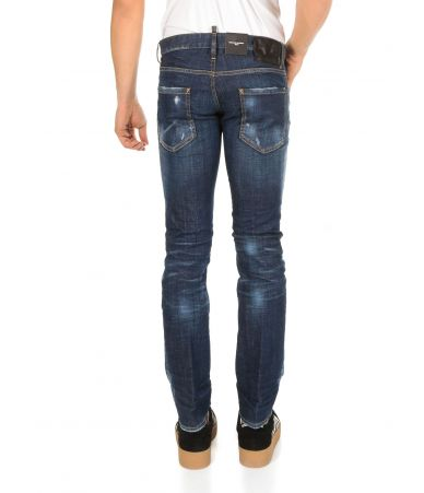 Blugi barbat, Dsquared2, Regular Clement Jeans, S74LB0505 S30342