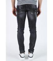 Dsquared2, Distressed Slim Jean, black, S71LB0248 S30357