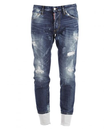 Dsquared2, Slim Jeans, Destroyed, Lace effect, S74LB0007 S30309