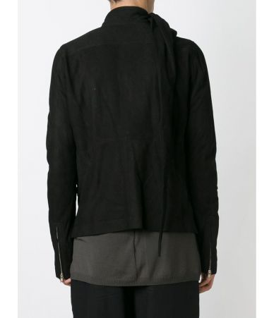 Rick Owens, wrap effect, Leather Jacket, RU15F7767LK
