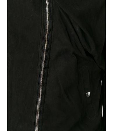 Rick Owens, wrap effect, Leather Jacket, RU15F7767LK