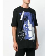 Faith Connexion, Unisex, Face Print Oversized T-shirt, X3707JNTMB2