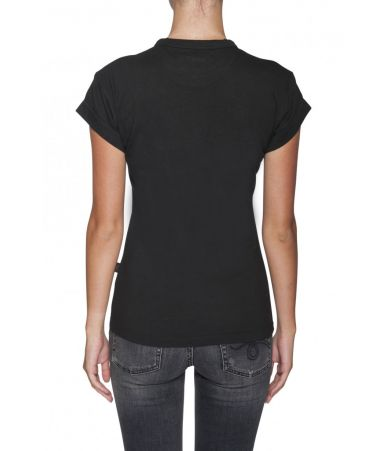 Chloe, Woman T-shirt, Embroidered Print, 1C18WJH02