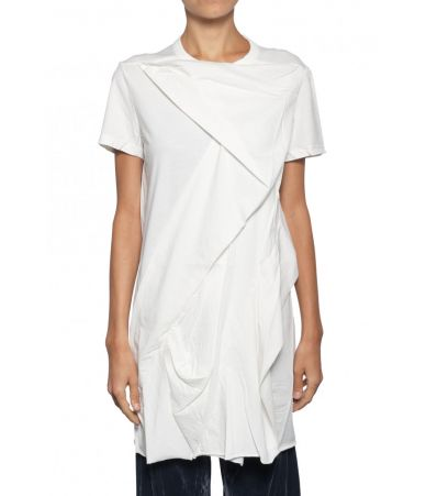 Rick Owens DRKSHDW, Dark Shadow Asymmetric T-shirt, 12134RN11