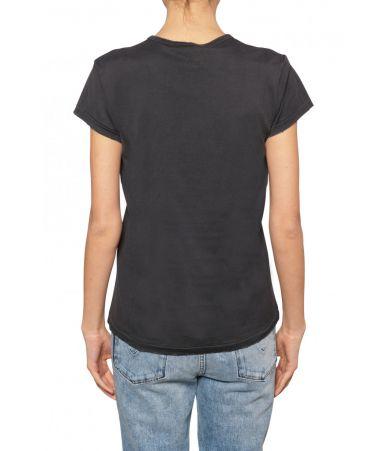 Givenchy Woman, Fun Flames Print T-shirt, 1BW70273013001