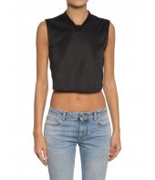 Givenchy, Woman Crop Top, V Neck, BW600C300P001