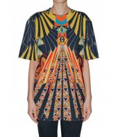 Givenchy T-shirt, Eye Over Print Multicolor, Oversized, 116I7705495960