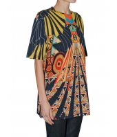 Tricou dama, Givenchy, Eye Over Print, Oversized, 116I7705495960