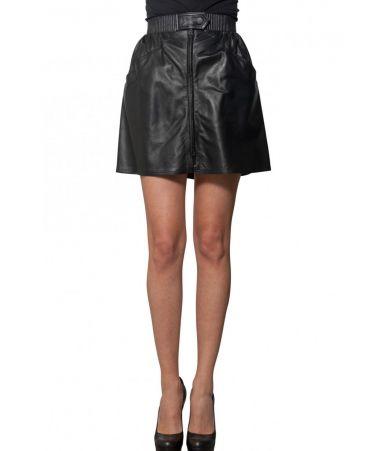 Kenzo Leather Mini skirt, 1F462JU9027AC99