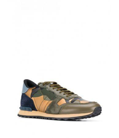 Valentino Garavani, Rockrunner Camouflage Sneakers, SS19