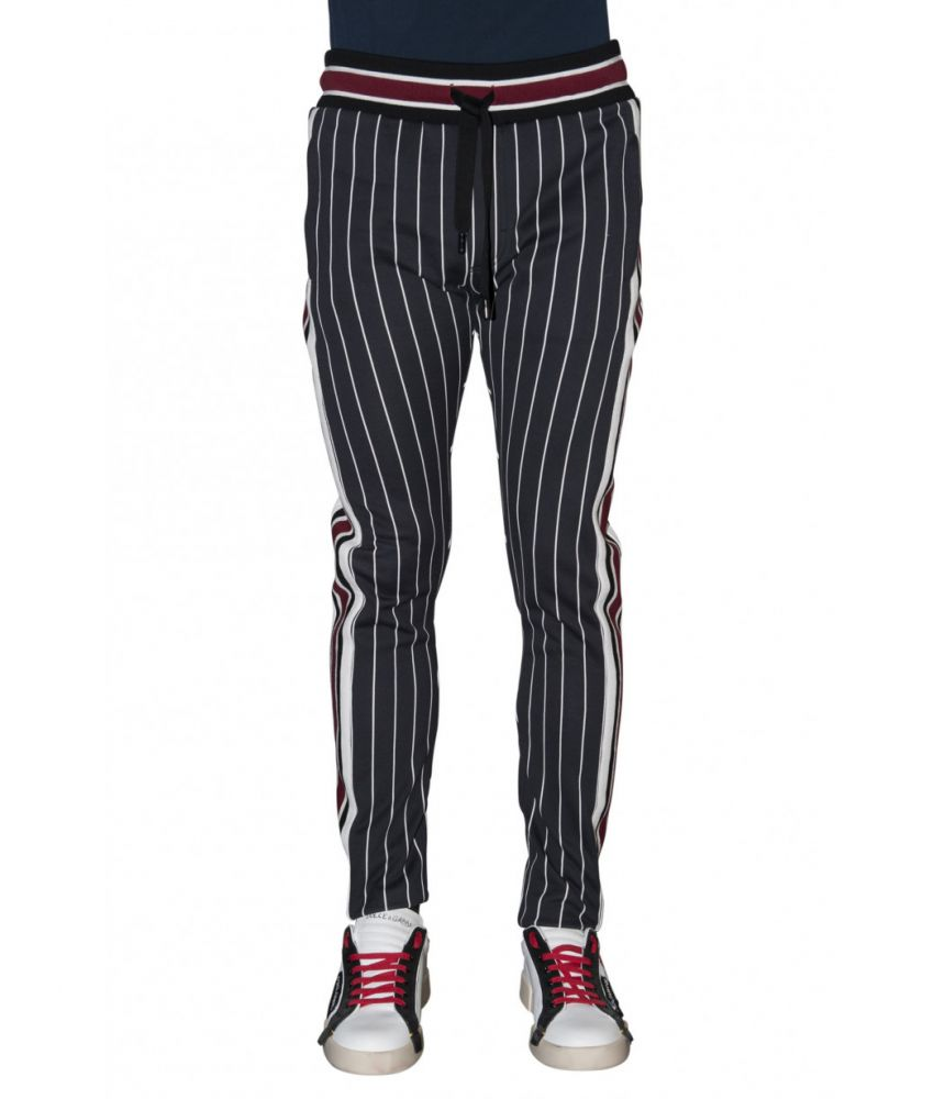 Dolce and Gabbana, Striped Jogger Pants, GYF1ATG7QIE