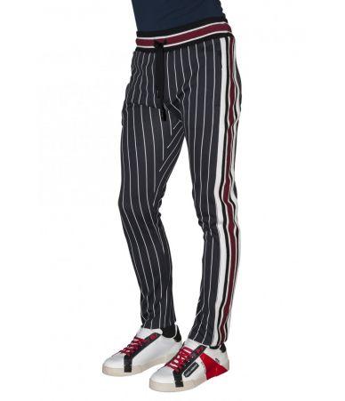 Pantaloni casual, Dolce and Gabbana, Striped Pants, GYF1ATG7QIE
