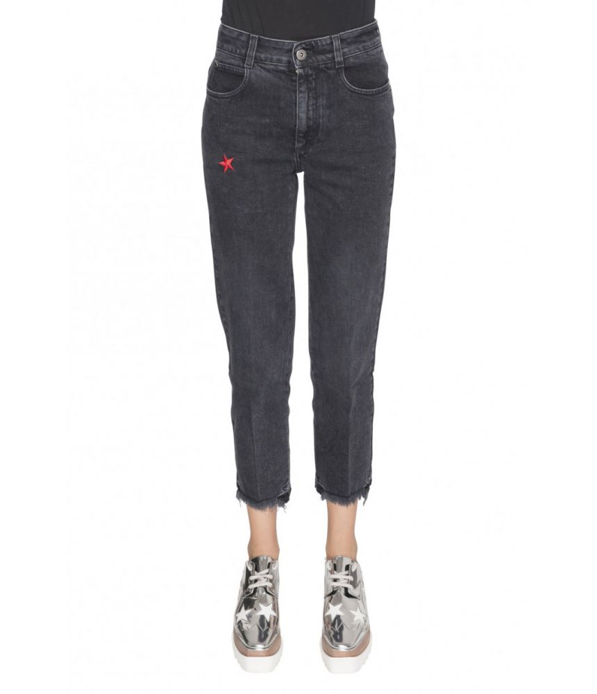 Stella McCartney, High Waist Jeans, Star Print, 1475195SLH241000
