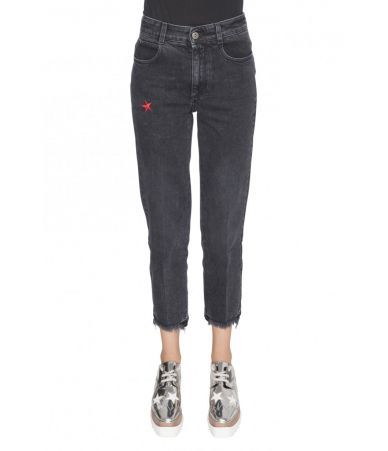 Stella McCartney, High Waist Jeans, Star Print, 1475195SLH241000