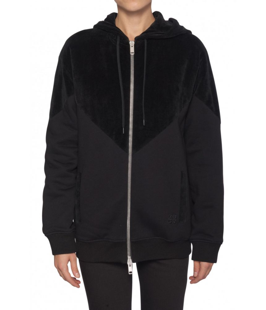Givenchy, Women's Quilted Felpa Hoodie, 1BW305S3060001