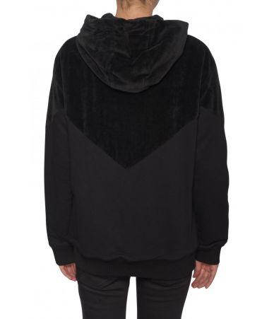 Hanorac dama, Givenchy, matlasat, logo print, 1BW305S3060001