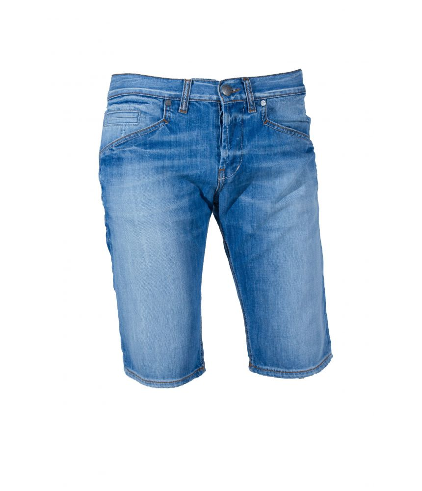 Denim Bermudas, Dondup, Pre-Washed, Destroyed, 4049747ABEL UP198 DF087U