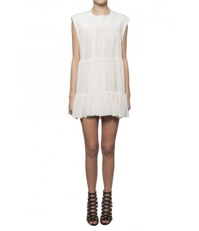 Chloe short ruffled dress, 1C18UHT18004306