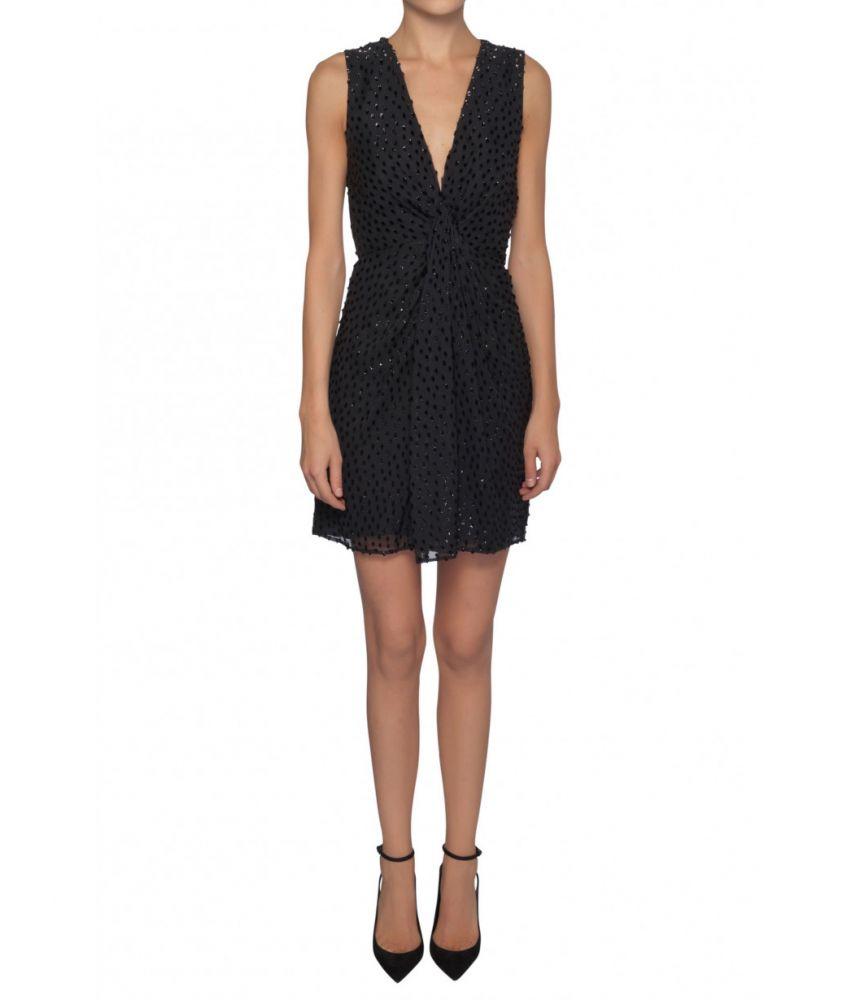 Saint Laurent, Mini Dress, Black Details, 1529925Y286T1000