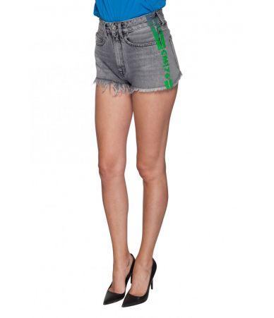 Pantaloni scurti dama, Marcelo Burlon, Distress Jeans, 1YC003E188681741040