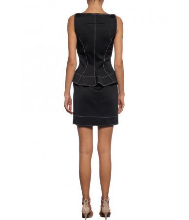 Rochita scurta, Givenchy, Formal Stitched Dress, 1BW201Y300T001