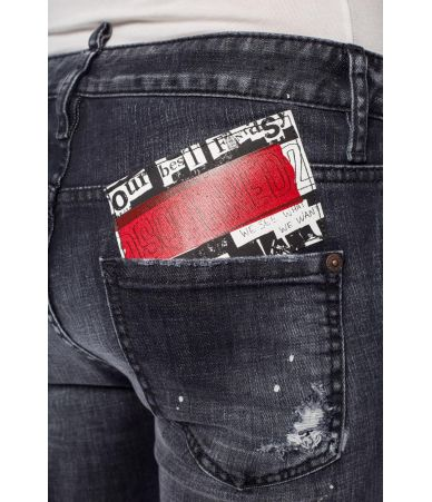 Dsquared2 Cool Girl Jeans, Patched, Painted, S75LB0134 S30357-900
