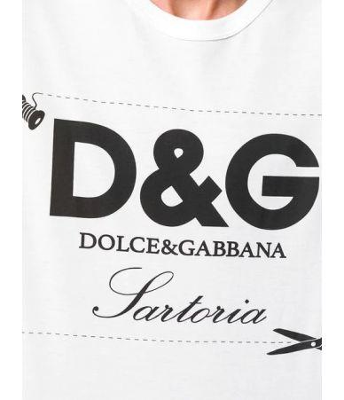 Tricou barbat, Dolce and Gabbana, Sartoria Print, G8HL0TFH770