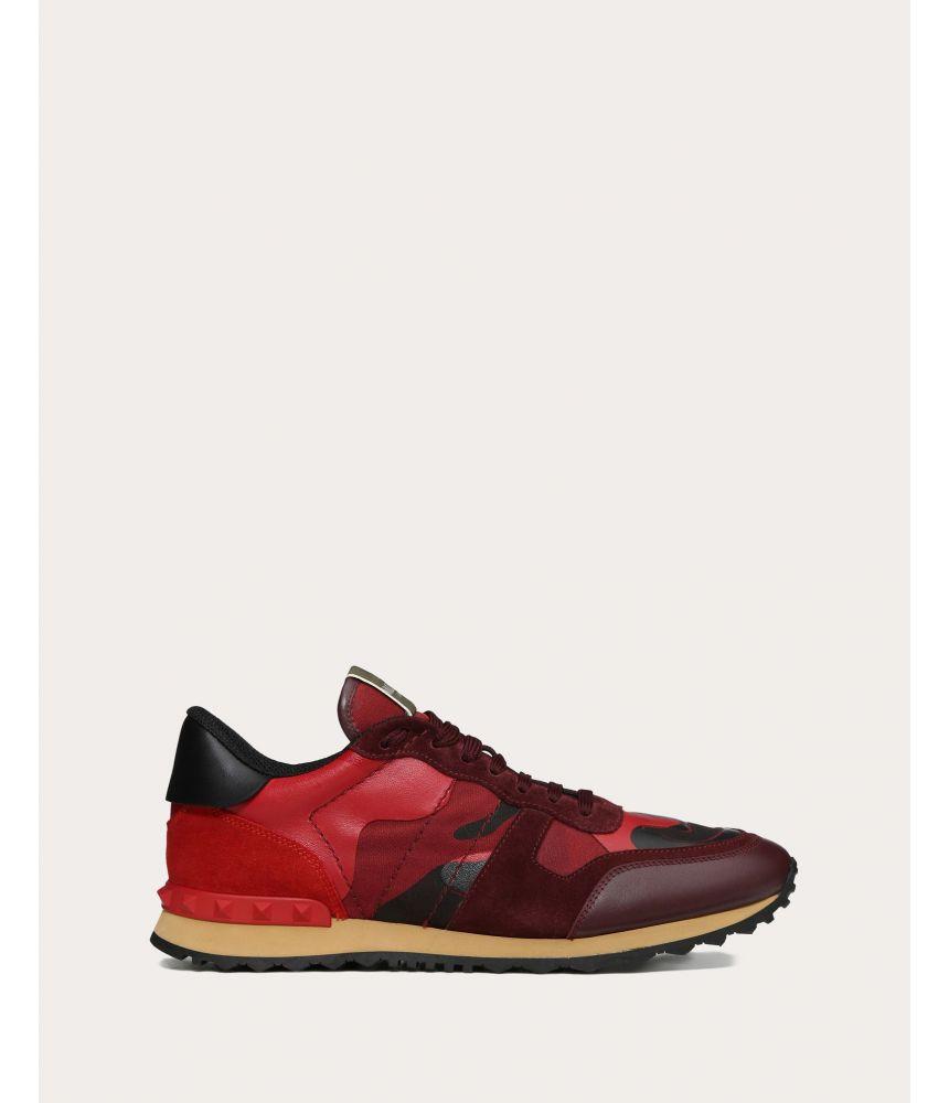 Pantofi sport, Valentino RockRunner Camouflage, Rubin, RY2S0723TCC R30