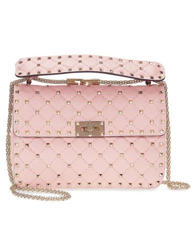 Valentino Garavani, Medium Rockstud Shoulder Bag, B0122NAP-W34