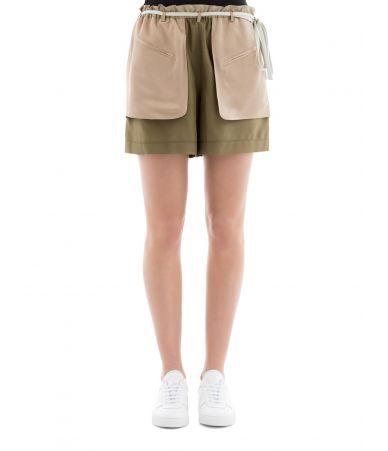 Pantaloni scurti dama, Valentino, matase schappe, PB0RF0N537C