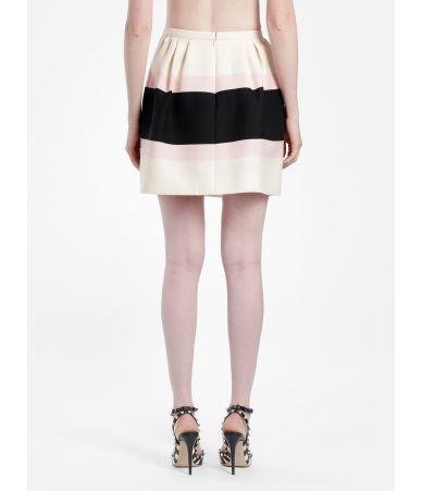 Valentino Macro Baiadera Skirt, multicolor, qb2ra3n642l nc2