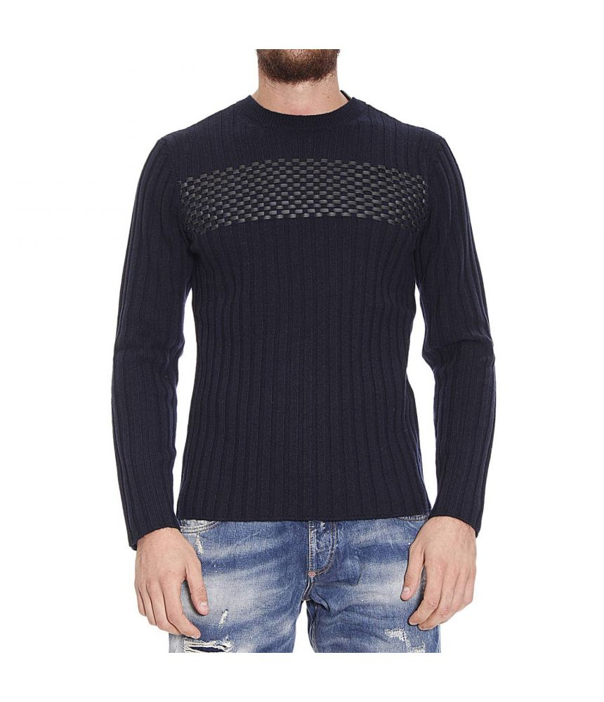 Emporio Armani, Men's sweatshirt with applications, S1M53M S155M